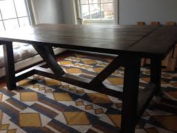 picture of rustic farmhouse style dining table