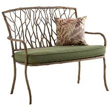 wrought iron indoor furniture. natureinspired wrought iron bench indoor furniture d