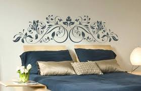 headboard stickers walls image of wall decal headboard for kids rooms wall stickers headboard uk