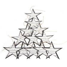 Großhandel Vintage Twinkle Little Star Noten Girlande Stern Ornamente Christbaumschmuck Home Musik Themed Party Decor Von Toto3 493 Auf