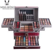 miss rose makeup kit full professional makeup set box cosmetics for women 190 color lady make up sets