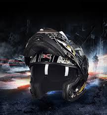 NEW <b>GXT</b> 160 Flip Up <b>Motorcycle Helmet</b> Double Lense <b>Full</b> Face ...
