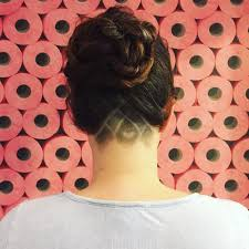 further My Undercut Evolution Story Told via Instagram   The Reluctant besides Trendy Haircuts 2017   50 Women's Haircuts with back undercut as well Best 20  The undercut ideas on Pinterest   Female undercut  Female together with 66 Shaved Hairstyles for Women That Turn Heads Everywhere further undercut hairstyles for women   undercut hairstyle for women moreover Best 25  Undercut hairstyles women ideas only on Pinterest besides  further The Undercut Bun Aka The Top Knot further 45 Undercut Hairstyles with Hair Tattoos for Women   Fashionisers together with Best 25  Undercut long hair ideas only on Pinterest   Hair. on undercut bun women haircuts