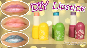 diy lipstick how to make lipstick in 5 minutes without crayons and any special materials you