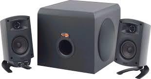 klipsch computer speakers. amazon.com: klipsch promedia 2.1 thx certified computer speaker system (black): electronics speakers amazon.com