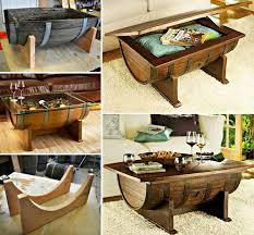 creative ideas for home furniture. this is a creative idea of making coffee table by using whiskey barrel itu0027s not ideas for home furniture