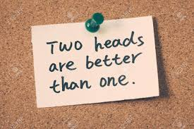 Image result for two heads are better than one