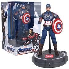 New Original <b>Avengers Endgame</b> Captain America <b>17cm</b> Action ...