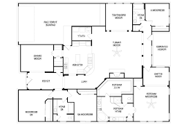 full size of bathroom alluring 4 bedroom ranch house plans 5 mesmerizing plan for 20 apartments