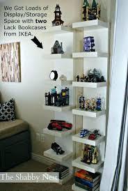 amazing ikea lack shelf unit medium size of bedroom cool white new wall sagging uk weight