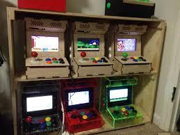 4 Player Arcade Cabinet Kit Diy Arcade Cabinet Kits More Porta Pi Arcade Kit
