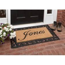 personalized front door matsDoor Mats