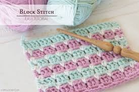 Block Stitch Crochet Pattern Amazing Design Inspiration