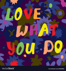 Love What You Do Citation Card Funny Design
