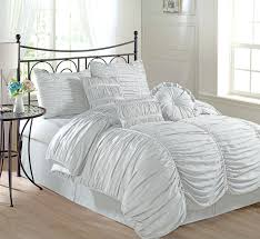 com chezmoi collection 7 piece chic ruched duvet cover set with white ruched duvet cover target white ruched duvet cover canada white ruched duvet