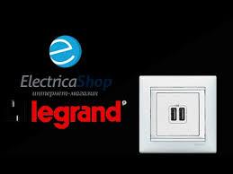 <b>USB</b>-<b>розетка</b> Legrand Valena - YouTube
