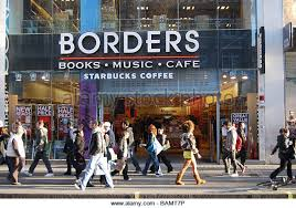Image result for borders bookshop photo