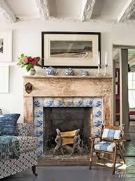 tiling a fireplace better homes gardens