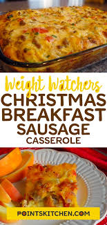 breakfast sausage cerole weighchers breakfast sausage cerole weight watchers