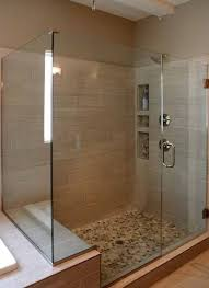 tremendeous seamless glass shower in frameless showers doors precision