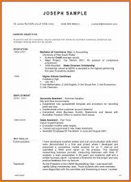 Accountant Cv Example Assistant Sample Pdf Management Chartered