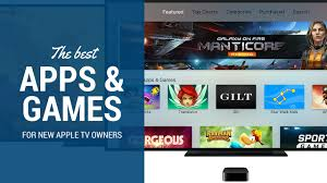 The best apps and games for new Apple TV users