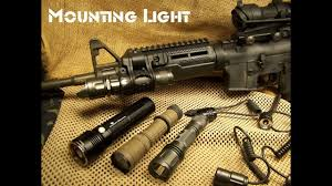 Rail Mounted Light For Ar 15 Light Mounting Options Ar15 M4