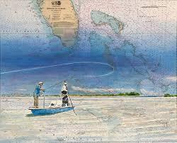 Paintings On Nautical Charts Nautical Chart Paintings Kyle E Bartlett