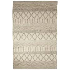 jaipur rugs scandinavia dula 8 x 10 textured wool rug in ivory rug129221