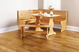 Wrap Around Bench Kitchen Table Amazoncom Essential Home Emily Breakfast Nook Kitchen Nook