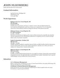 Copy Paste Resume Templates And Full Size Of Large Medium For Word ...