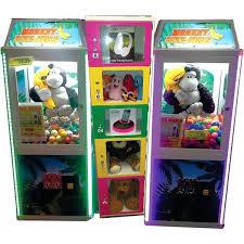 Monkey Vending Machine Amazing Monkey BizzNess Prize Machine Crane Machine Gumball