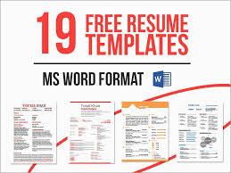 Resume Template Word Free Download Best Of Download Free Monogram