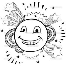Small Picture Smiley Face Coloring Page Apple With Smiley Face Coloring Page