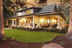 image of farmhouse floor plans wrap around porch house