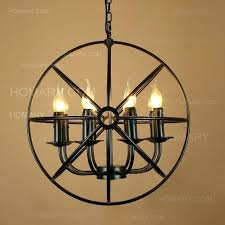 metal orb chandelier awesome images large world market