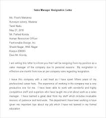 Images Of Template Manager Resignation Letter Resignation