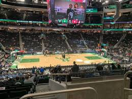 Fiserv Forum Seating Chart Milwaukee Bucks Fiserv Forum Section 107 Home Of Milwaukee Bucks