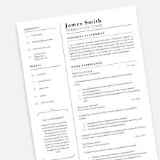 Free Achiever Pofessional Cv Resume Template In Microsoft Word Docx
