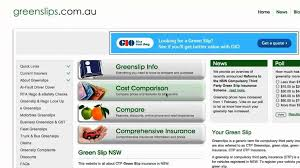 how to compare green slips find est quote greenslips com au you