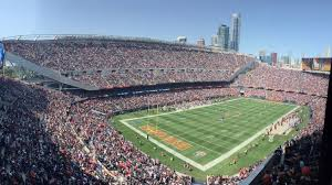 Soldier Field Chicago Bears Seating Chart Soldier Field Chicago Bears Football Stadium Stadiums Of