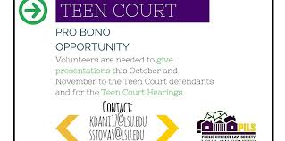 For teen court requirements include