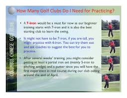 Golf Clubs Buying Guide