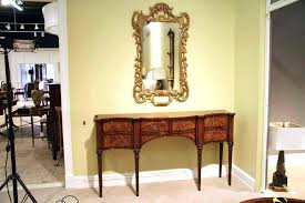 hallway console cabinet. Narrow Cabinet For Hallway Mahogany Sideboard Dining Room Great Console Table Image Small .