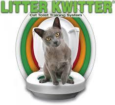 <b>Litter Kwitter</b> - система приучения котов и кошек к унитазу - купить ...