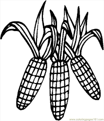 Small Picture corn on the cob coloring pages