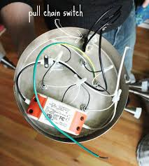 crab fish convert any light to a pull chain fixture How To Wire A Pull Cord Light Switch Diagram next, fish rewired the light with the switch in the circuit Light Switch Outlet Wiring Diagram