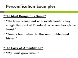 personification symbolism allusion ppt video online  personification examples