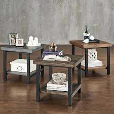 classic home furniture reclaimed wood. Classic Home Furniture Reclaimed Wood Industrial Accent End Table By Inspire Q Outlet Chicago S