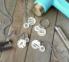 Design Your Own Metal Stamp Jewelry Stamping Happy Hour Projects